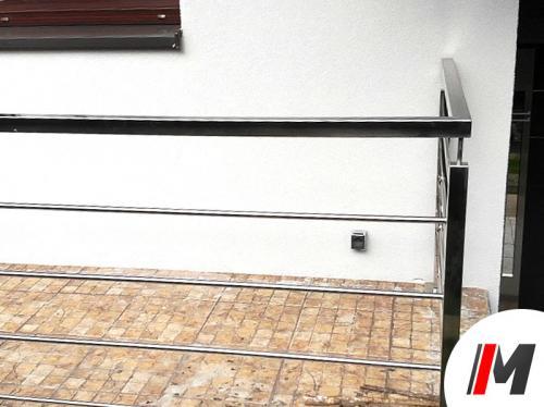 Balustrada nierdzewna - Stanowice 1